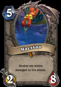 Hearthstone Boss Maexxna