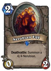 Nerubian Egg Karte bei Hearthstone
