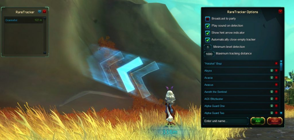 WildStar Addon: RareTracker
