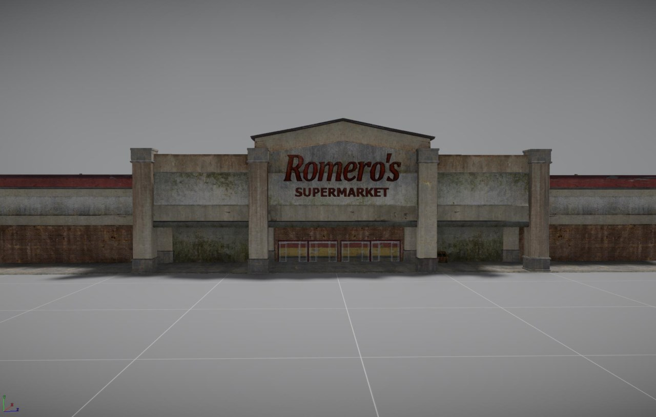 H1Z1 Romero Supermarkt
