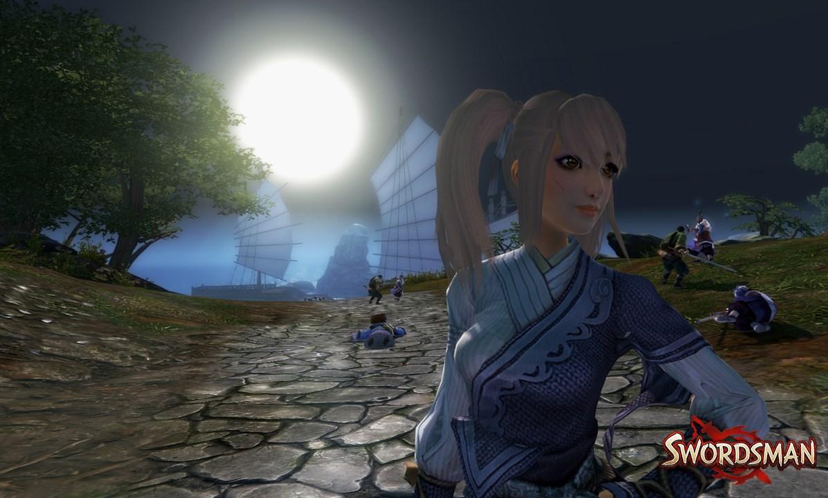 Charakter in Swordsman