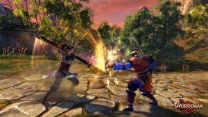 Kampf in Swordsman