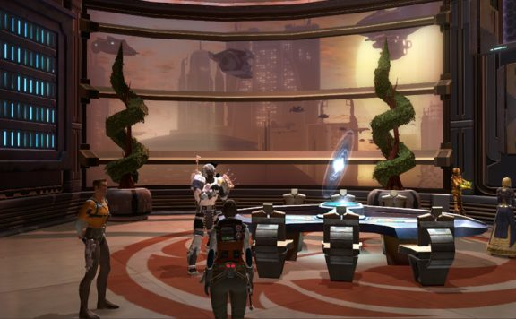 Star Wars: The Old Republic - Coruscant Housing