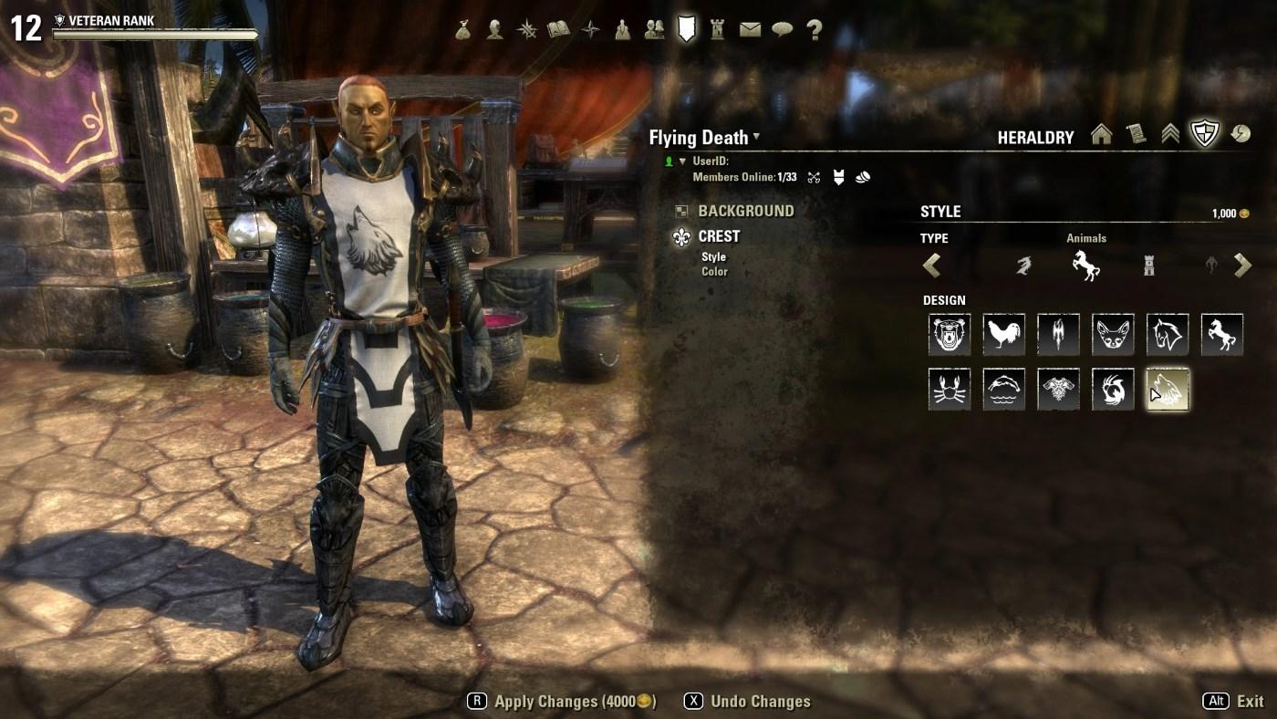 The Elder Scrolls Online Wapprenrock