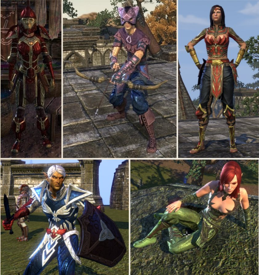 The Elder Scrolls Online Rüstungsfarben