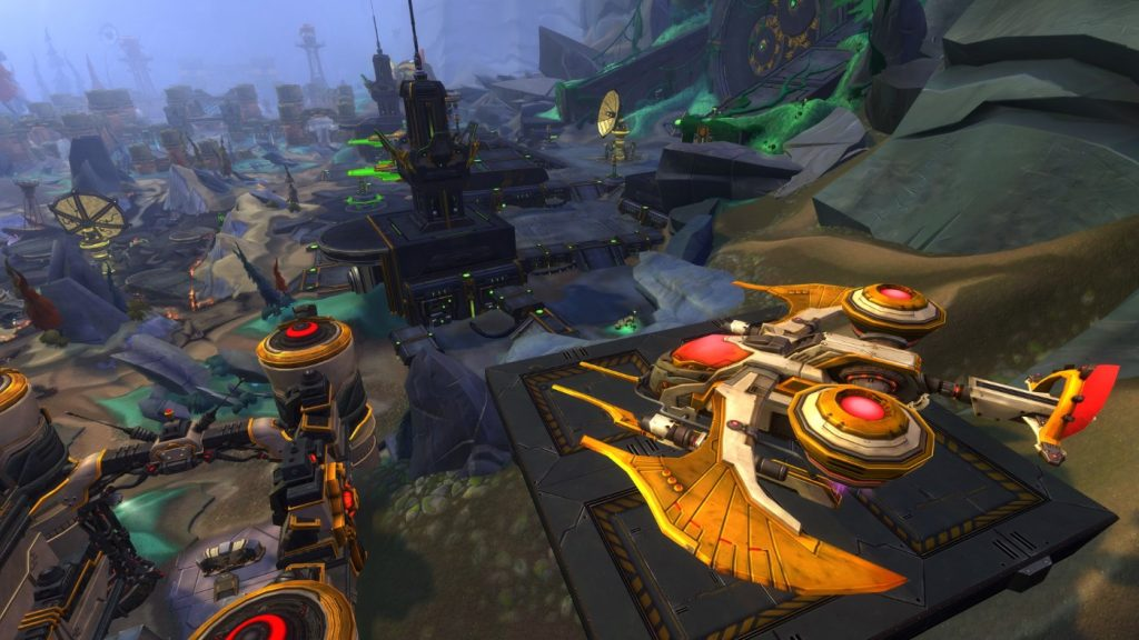 WildStar PvP Battleground Dolchsteinpass