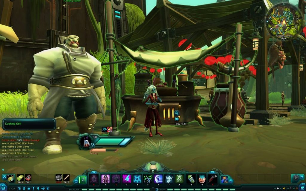 Cortyn kocht in WildStar
