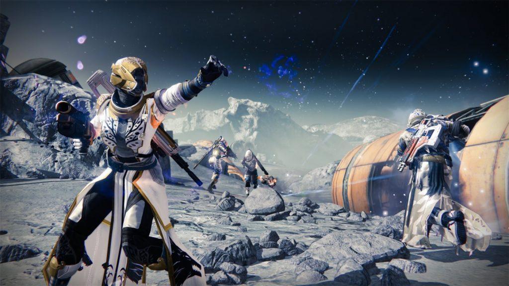 Destiny auf dem Mond
