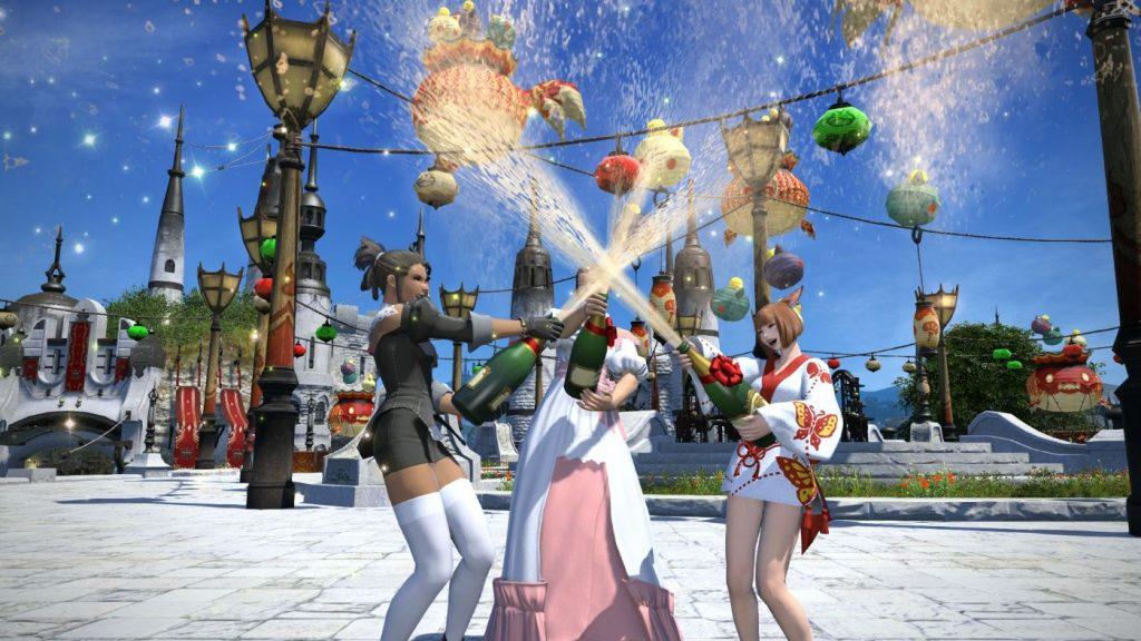 Final Fantasy XIV Feierstimmung