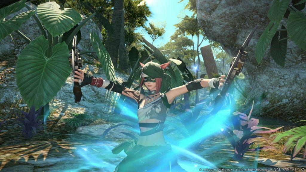 Final Fantasy XIV - Ninja Klasse