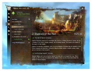 Guild Wars 2 Story Journal