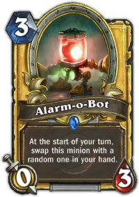 Hearhstone Alarm-O-Bot