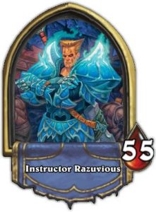 Hearthstone Boss Instructor Razuvious