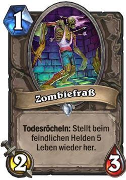 Hearthstone Karte Zombiefraß