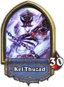 Kel Thuzad Boss Hearthstone