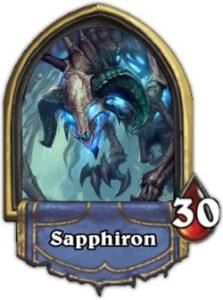 Sapphiron Hearthstone Boss