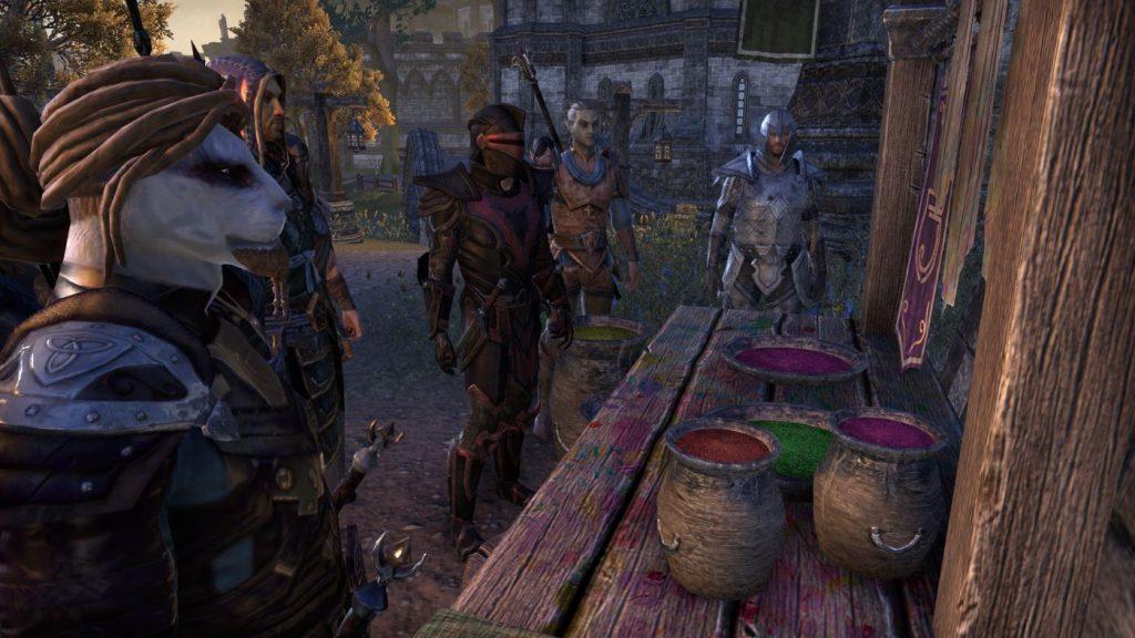 The Elder Scrolls Online Farbstation