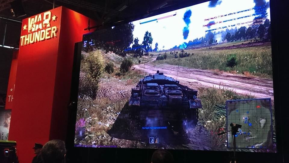 War Thunder Gamescom