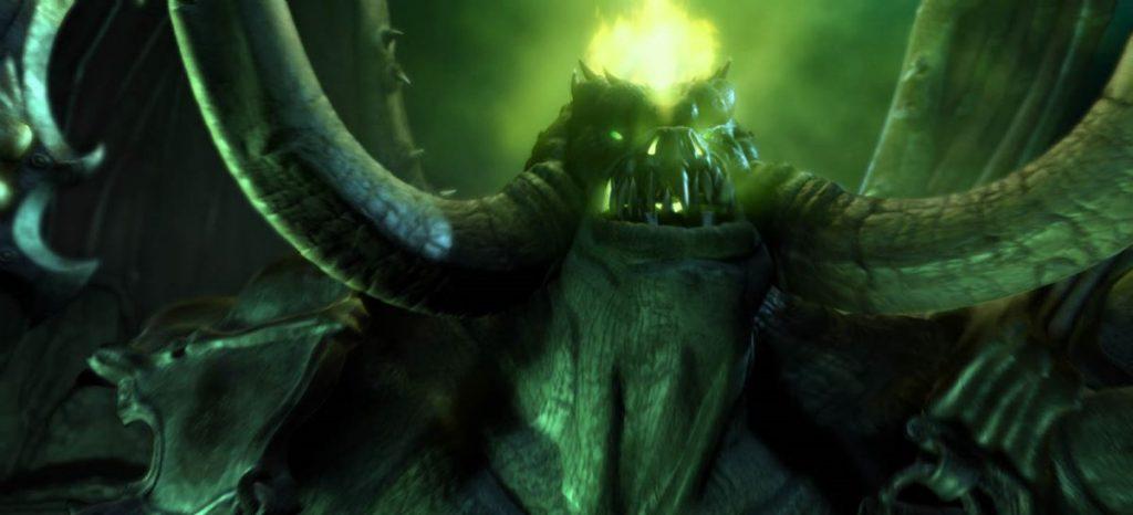 Dämonischeer Grubenlords Mannoroth in der Welt von Warcraft