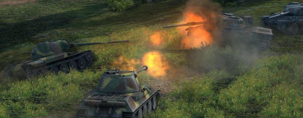 World of Tanks: Dank neuer Versionen 100 Millionen Spieler