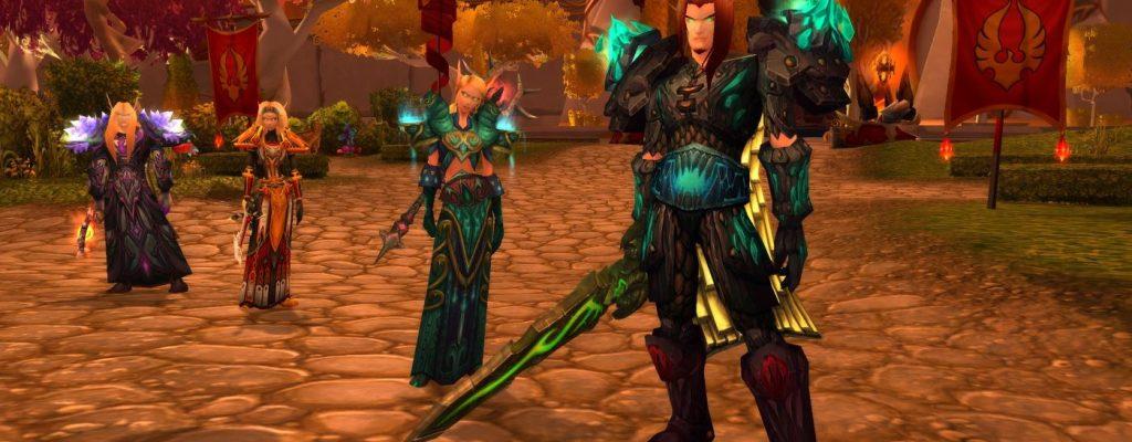 World of Warcraft: Blutelfen – altes Gesicht, neue Welt