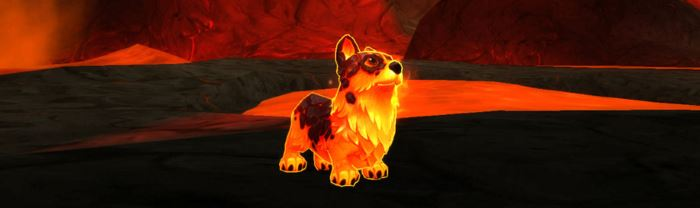 World of Warcraft Molten Core Hund