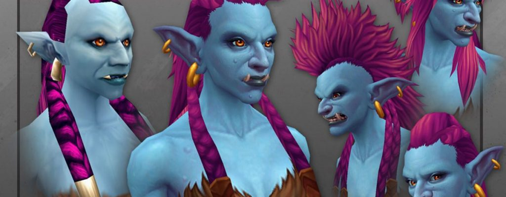 World of Warcraft trollt gut: Neue Troll-Modelle