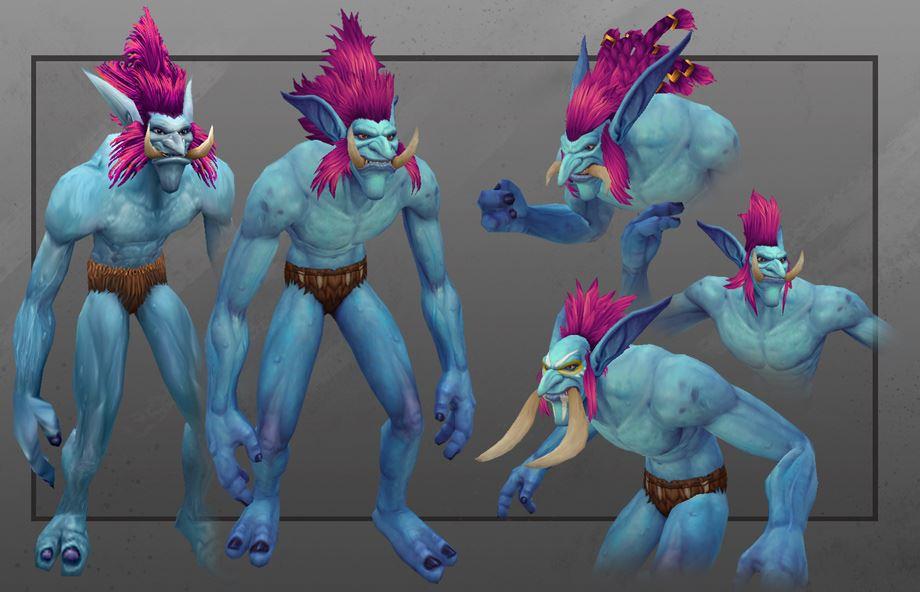 World of Warcraft - maennliche Trolle