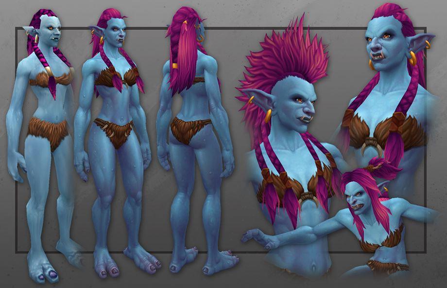 orld of Warcraft - weibliche Trolle