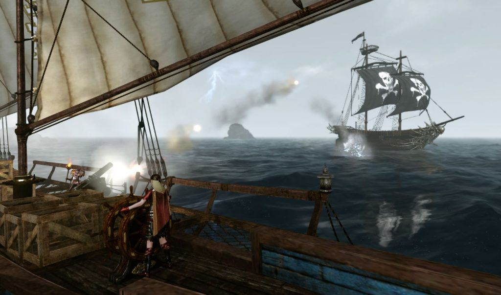 ArcheAge Piratenschiffe