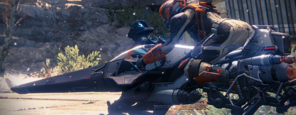 Destiny: Mit der Sparrow in die Half-Pipe – die coolsten Tricks