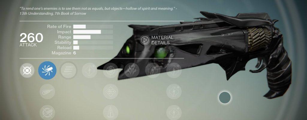 Destiny: Exotische Waffen Dorn und Schlechtes Karma sollen noch vor 9. Dezember gestärkt werden