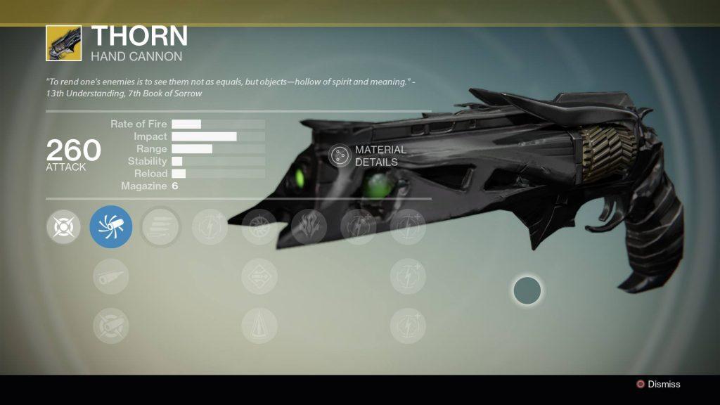 Destiny_Thorn_Exotische_Waffe