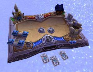Hearthstone Board in World of Warcraft
