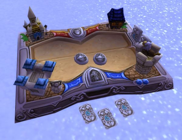 Hearthstone Board in World of Warcraft