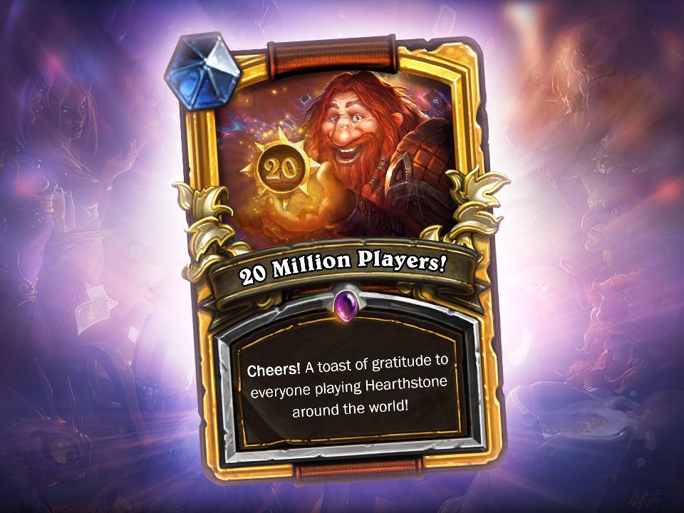Hearthstone: 20 Millionen Spieler