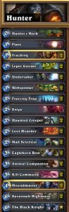 Hunter Deck Hearthstone