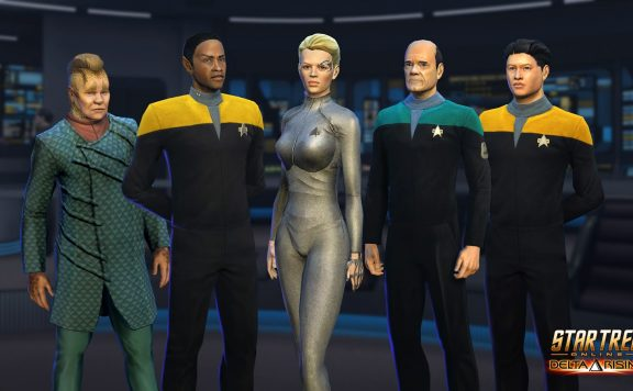 Voyager Crew in Star Trek Online