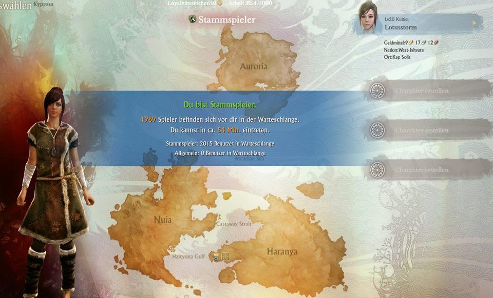 Warteschlange_ArcheAge