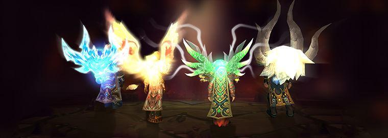 World of Warcraft - Legendaere Umhaenge