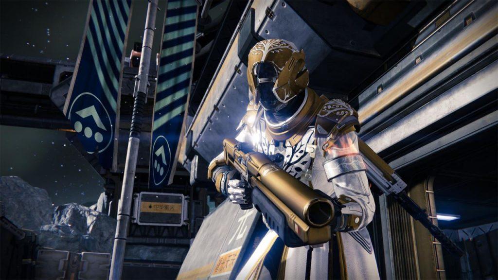 Destiny-Charakter-auf-dem-Mond.