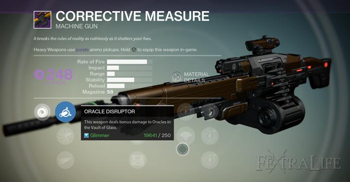 Destiny-Corrective-Measure