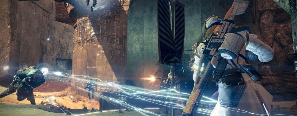Destiny setzt auf den Second-Screen-Tresor, macht ihn vielleicht später größer