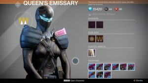 Destiny-Queen-Händler