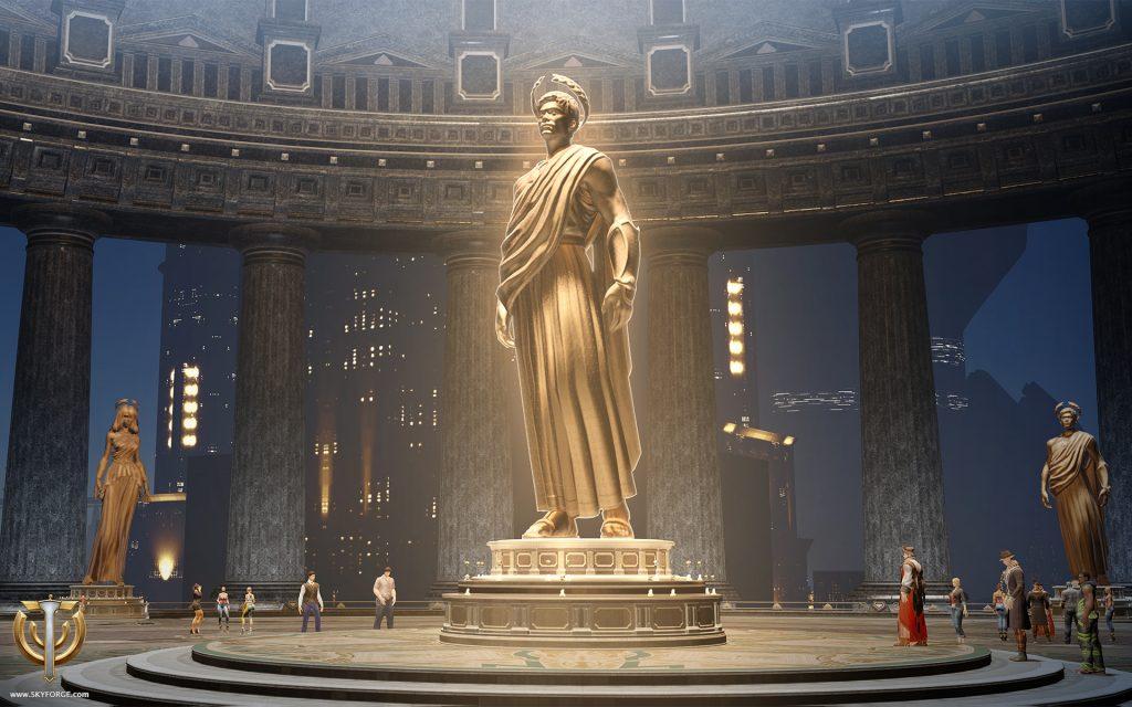 Skyforge-Statue