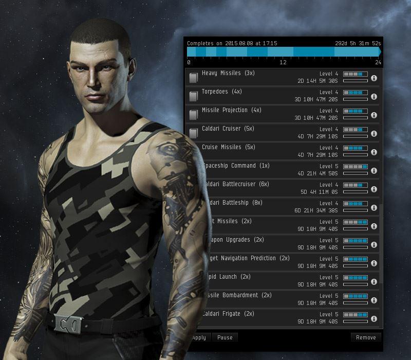 EVE Online - Skills