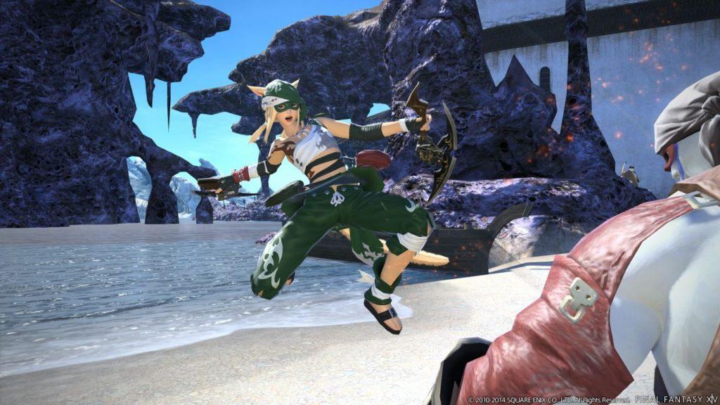 FFXIV Patch 2.4 Ninja