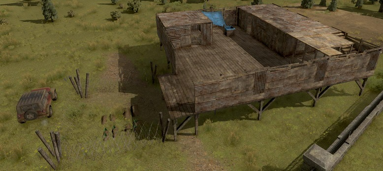 H1Z1-Festung