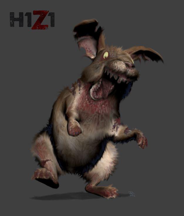 H1Z1 - Infizierte Ratte