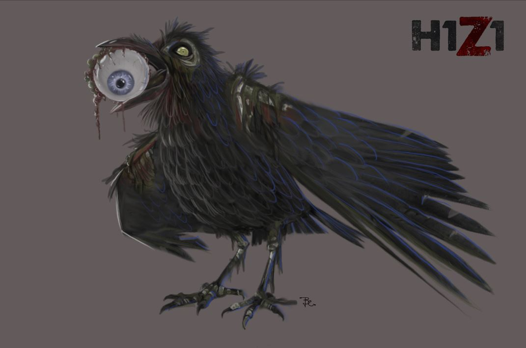 H1Z1 - Infizierter Rabe